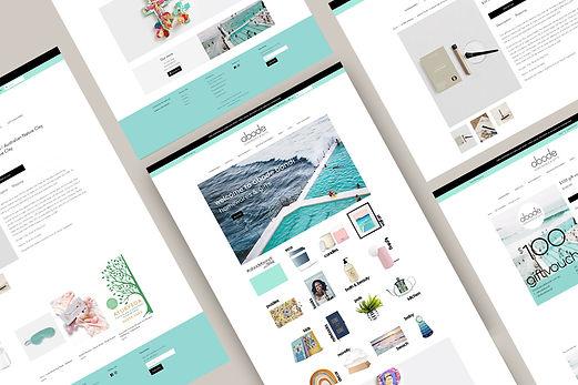 eCommerce website for Abode Bondi by White Pear Online
