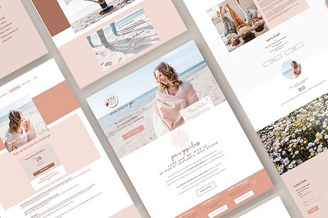 ecommerce website for Yoga for the people online by white pear online