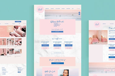 eCommerce Wesbite makeover for Pinch Salt Float by White Pear Online