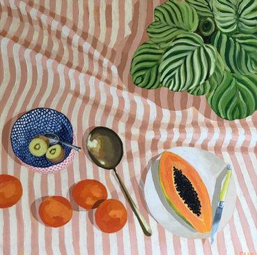 The Kiwi Fruit Somebody Ate