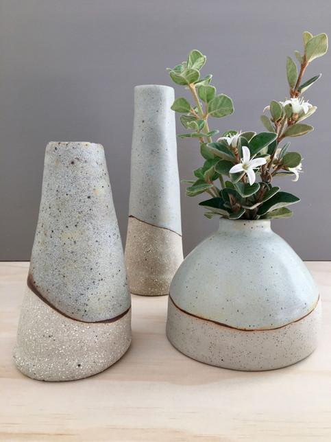 Saltbush Vases & Moonah Vase