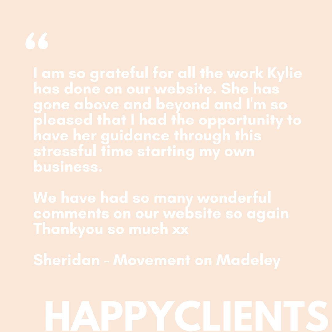 Movement on Madeley
