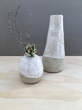 Button Vase & Saltbush Vase