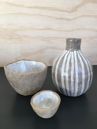 Banksia Bowls & Eucalypt Vase