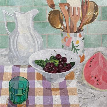 Cherries and Watermelon