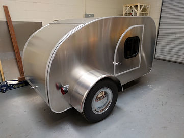 Teardrop camper trailer overview