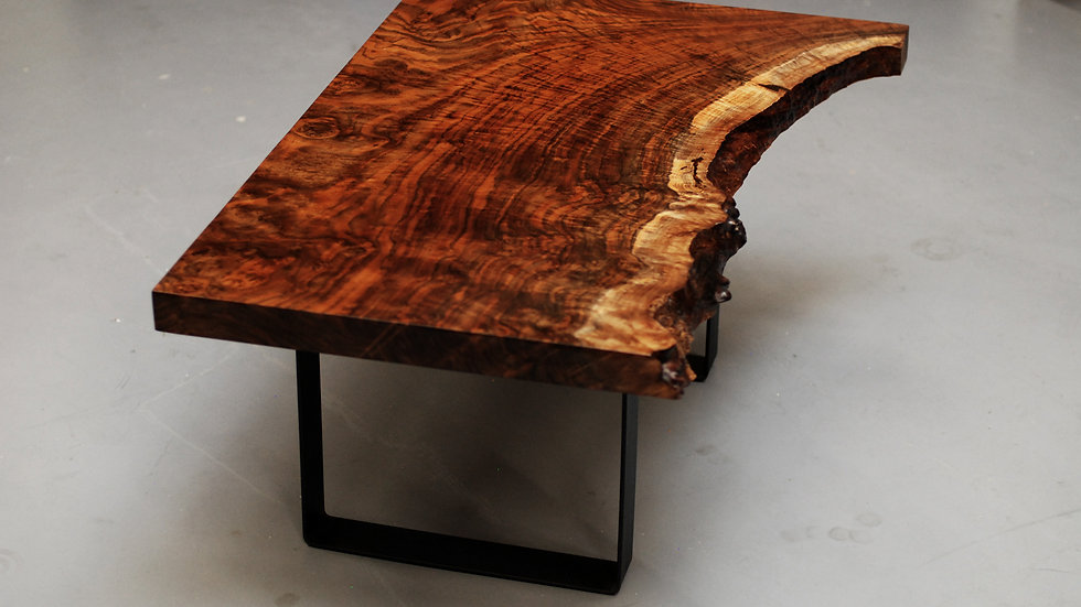 Rare Highly Figured Claro Walnut 350-500 Years Old Reclaimed Local - 4 of 7