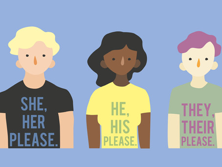 Inclusion Rebellion: Pronouns, a special letter from our Board of Directors and Rabbi Kinberg