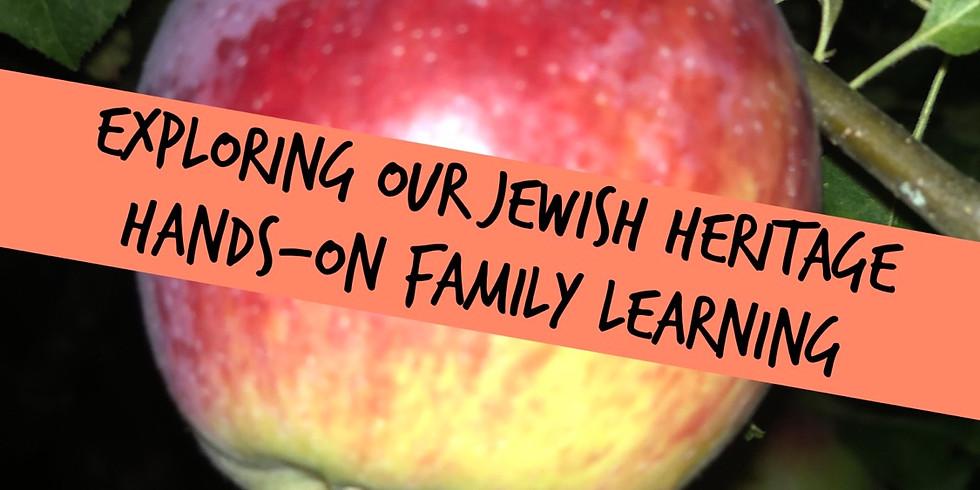 Exploring Our Jewish Heritage Family Education/JFS Food Sort and Sukkot Program