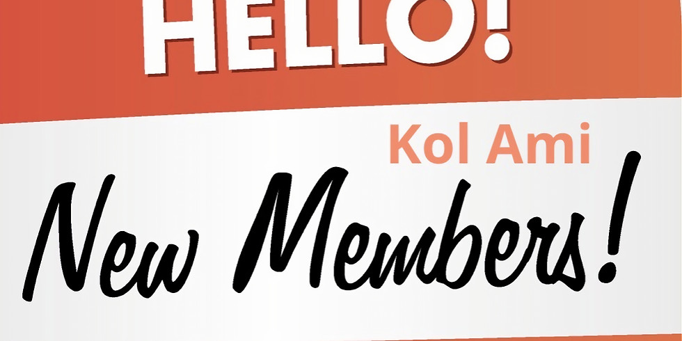 Kol Ami New Member Shabbat  (1)