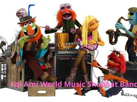 Forming: Kol Ami World Music Shabbat Band