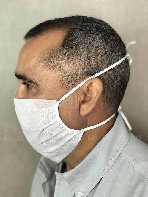 Máscara de Proteção TNT / Branca  - 10 unidades