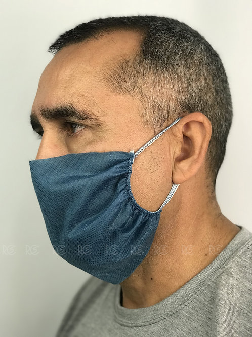 Máscara de Proteção TNT face dupla - 10 unid.