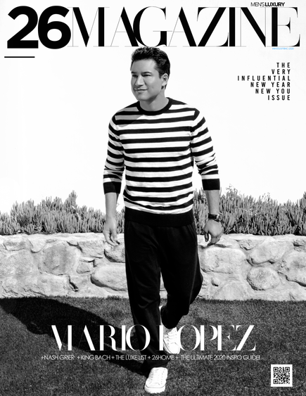 MARIO LOPEZ COVERS OUR VERY INFLUENTIAL WINTER-SPRING 2020 ISSUE!