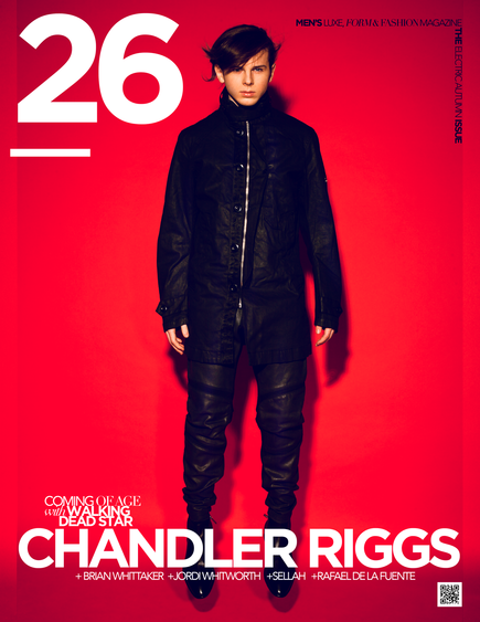 26 Magazine Debuts Walking Dead Star Chandler Riggs Like You've NEVER Seen Him Before!