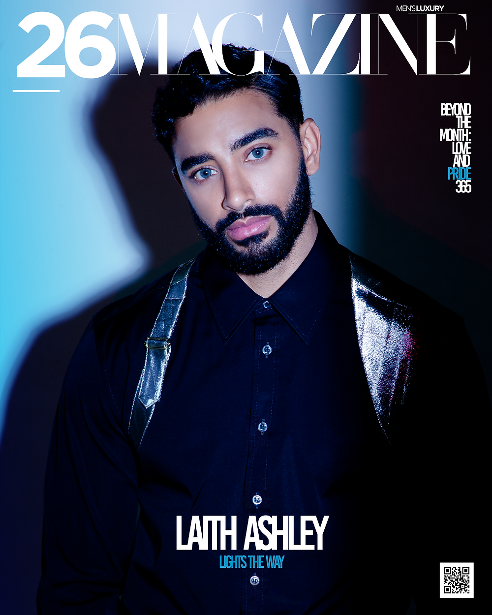 26 Magazine Laith Ashley Cover