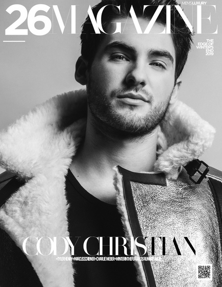"Cody Christian for our ""Edge Of Winter's End"" Cover!"