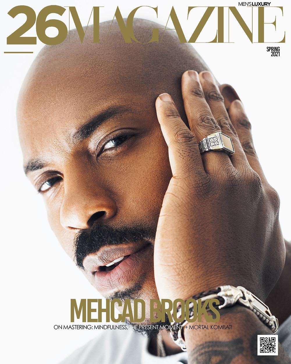 26 Magazine Mehcad Brooks