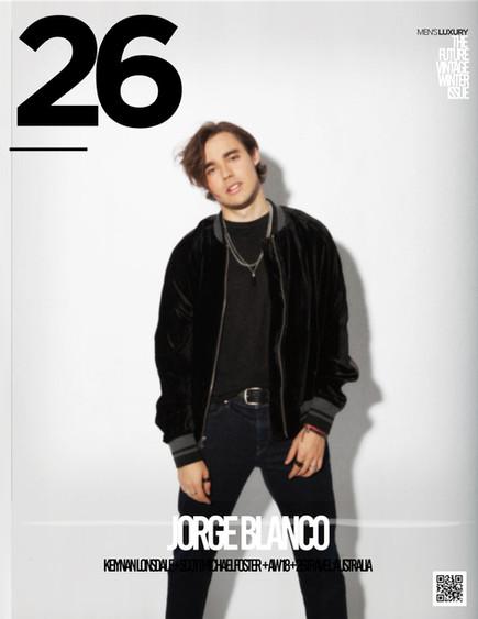 JORGE BLANCO FOR 26 MAGAZINE's Future-Vintage Winter Issue!