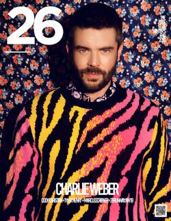 Charlie Weber 26Mag Cover