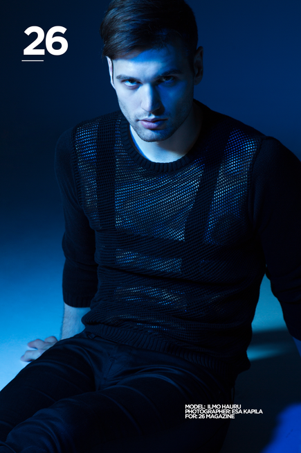 ONLINE EXCLUSIVE: FINLAND BASED MODEL ILMO HAURU IS OUR #26MANOFTHEWEEK!!