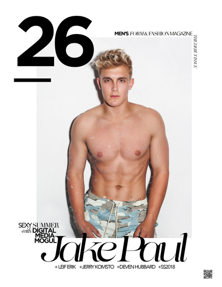 JAKE PAUL COVERS 26 MAGAZINE'S DEBUT ISSUE