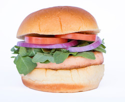 Burger 3 (salmon)
