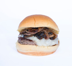 Burger 5 (onion and mushroom)