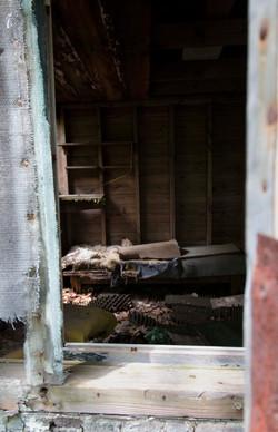 Inside shack 3