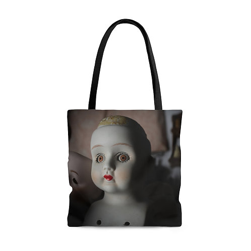 Hairline to Shoulder Tote Bag