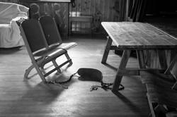 chairs swing bw