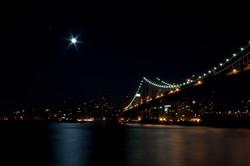 Manhattan Bridge at Night (1)