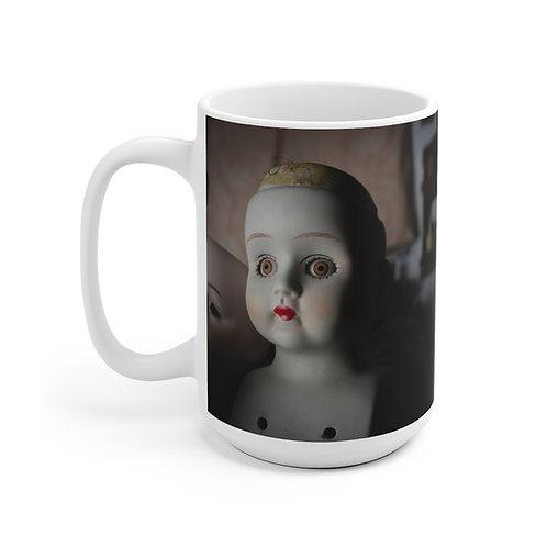 Hairline to Shoulder Ceramic Mug