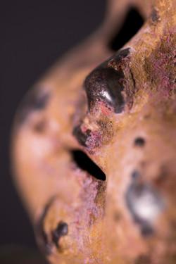 Tin head close up 3