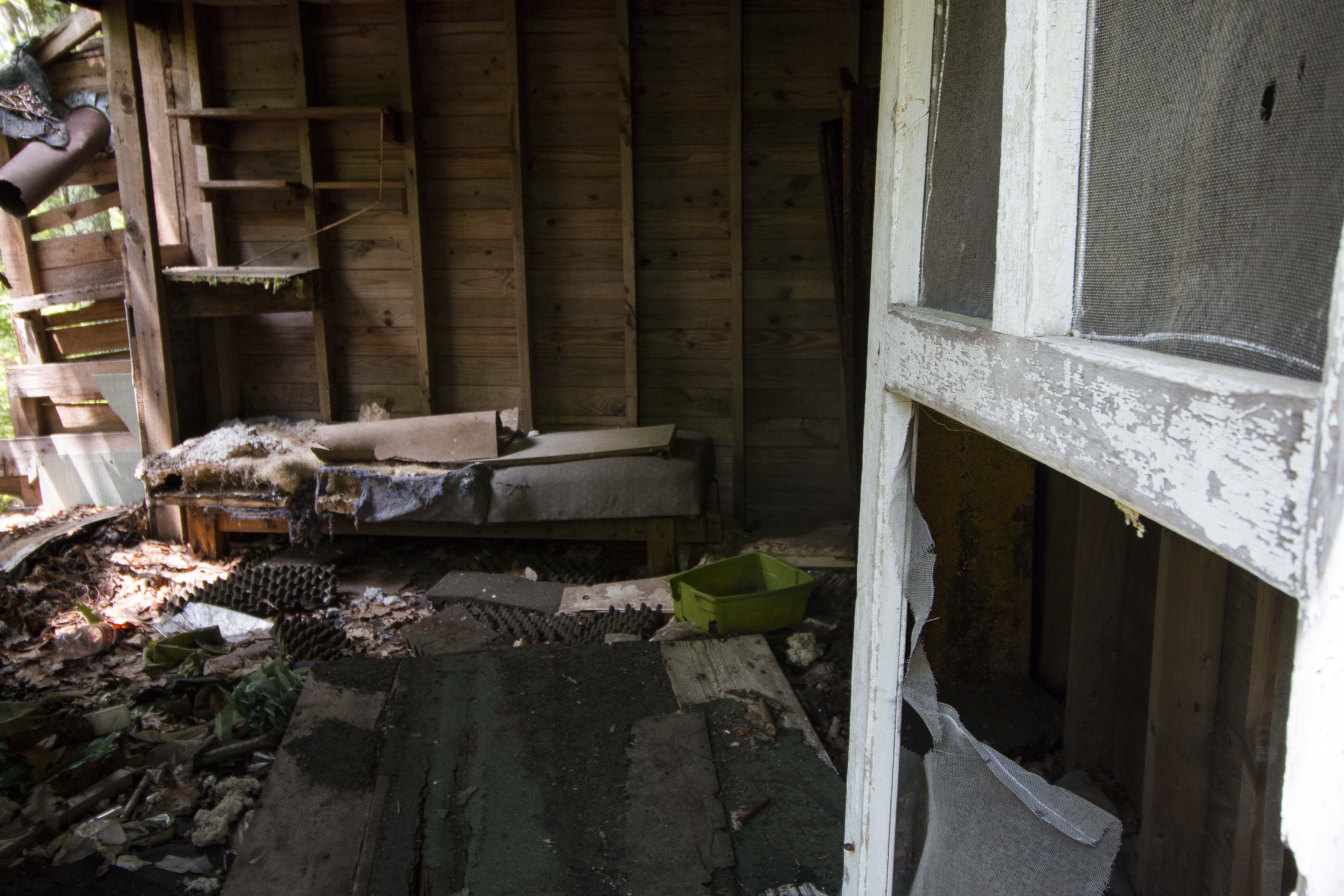 Inside shack 2