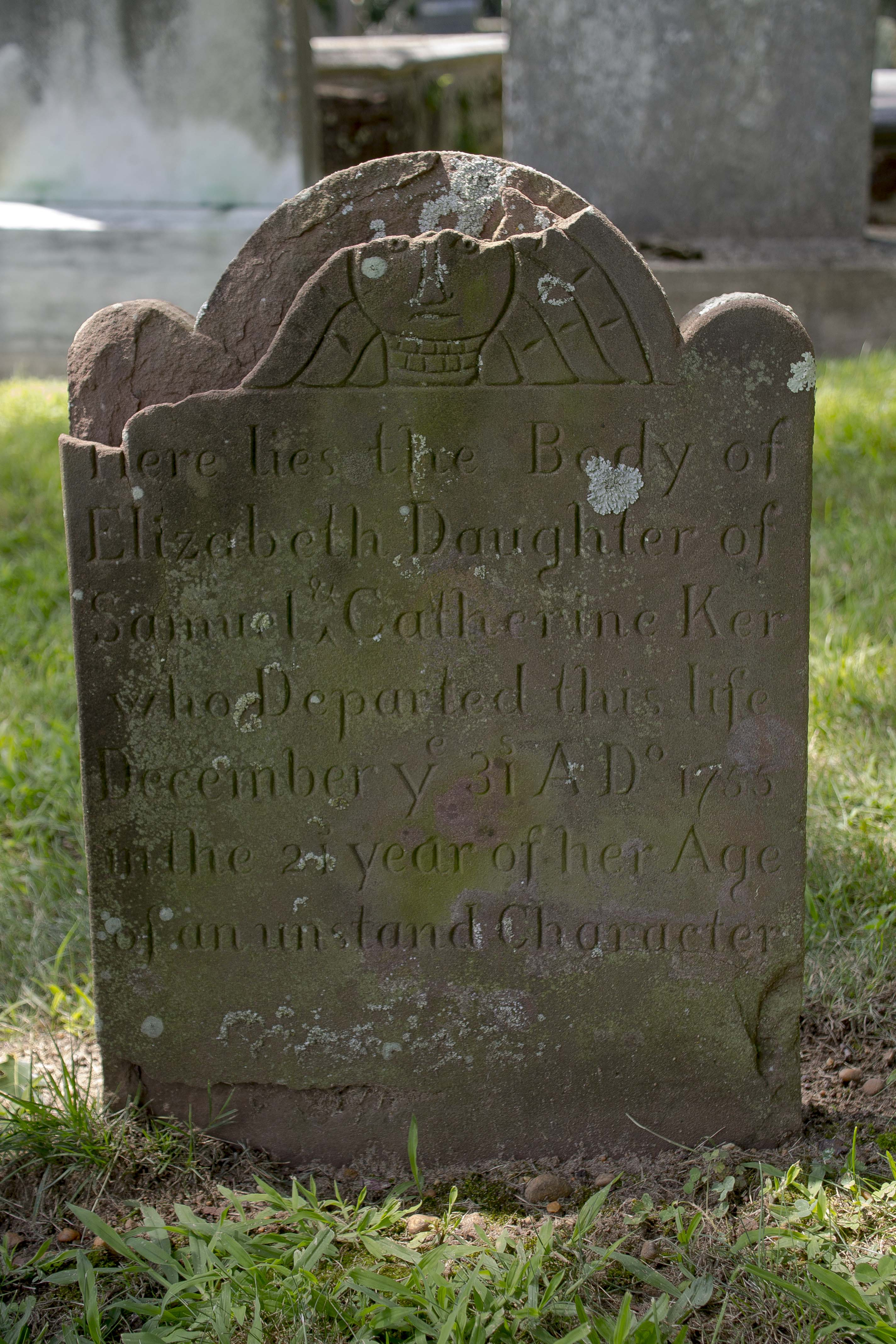 1755 Old Tennent Cemetery