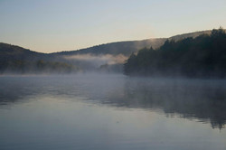 Sunrise Mist on the mountains 1