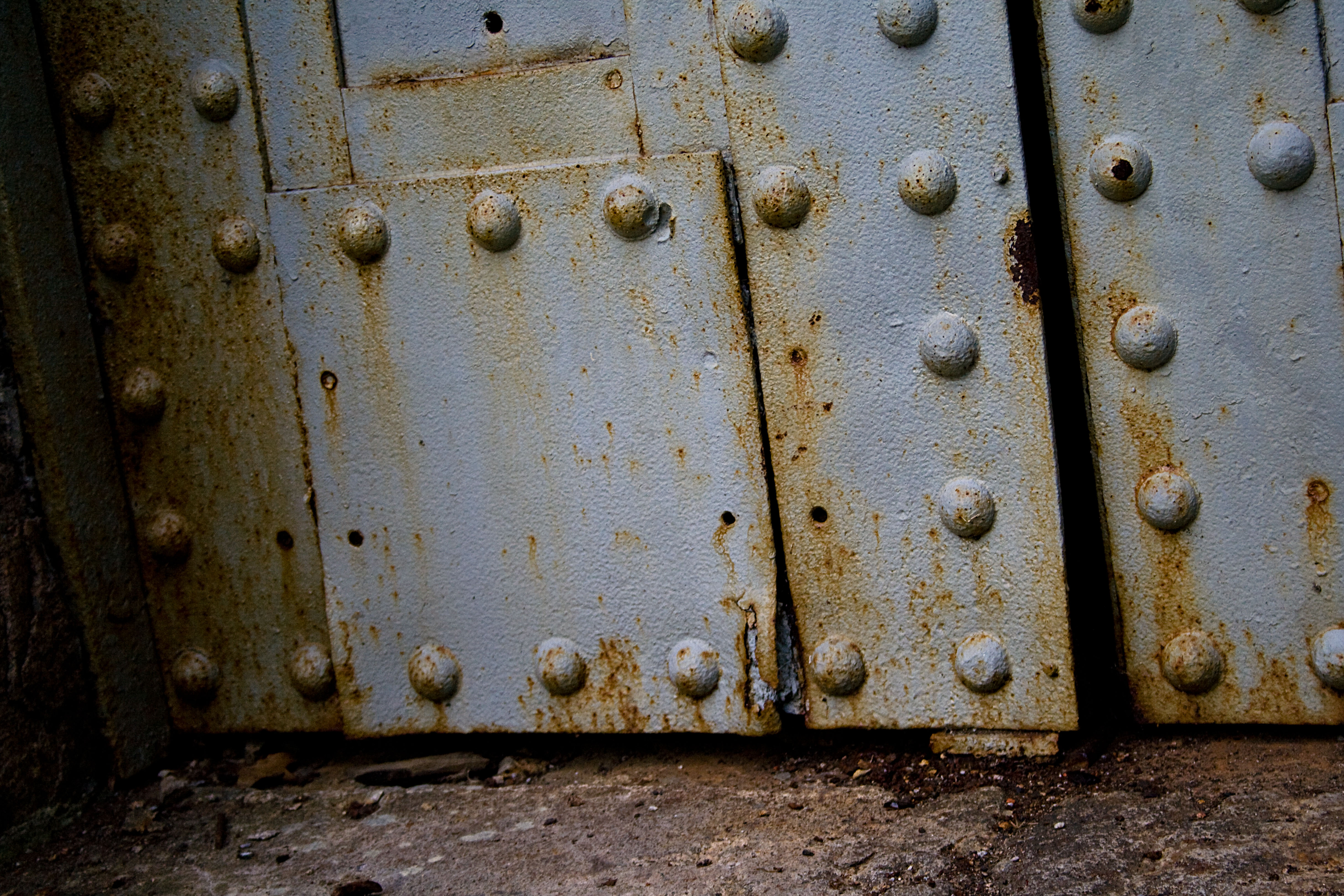 Old Metal Door
