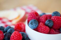 Berries in bowl