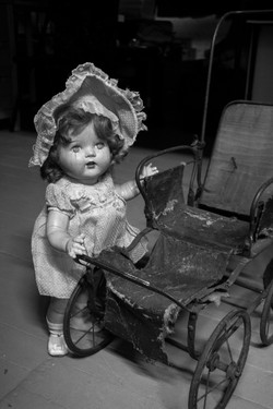 Baby and the carriage