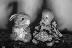 Bunny and the baby