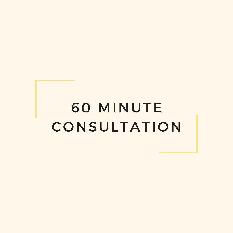 60 Minute Consultation