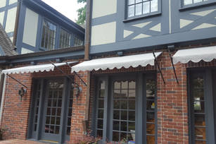 Residential Awning with spear rods 3x2 p