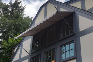 Residential Awning with spear rods 3x2