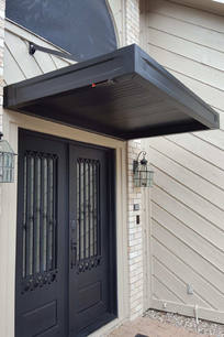 Residential Overhead Support Canopy, Bla