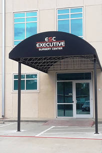 Canopies 45 Executive Surgery Center 4x6 sideways