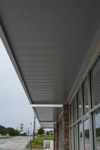 New Construction Overhead Support Canopy