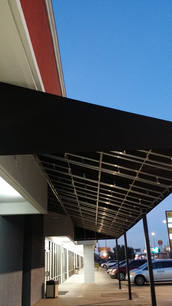Framing 34 Commercial Canopy