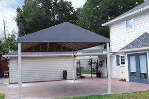 Canopies 44 Grey Canopy 4x6