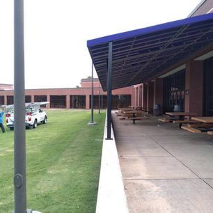 Canopies 32 Montgomery High School Canopy